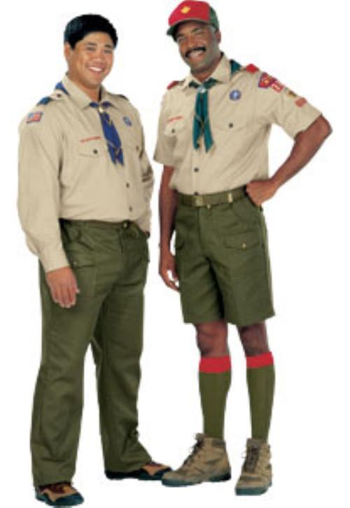Scouts et Guides de France dAbbeville La tenue scoute